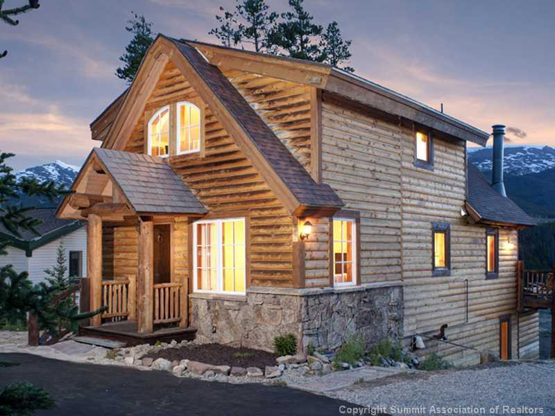Silver pines cottage your breckenridge log cottage getaway for Breckenridge cottages
